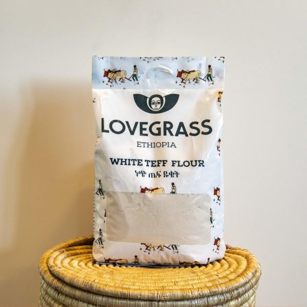 Teffmehl Weiß Lovegrass