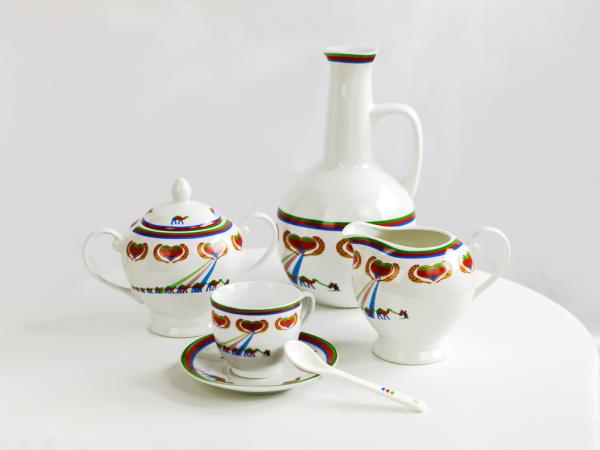 Porzellan Kaffee-Set