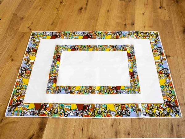 Kaffeezeremonie dekor abwaschbar. 37*28cm