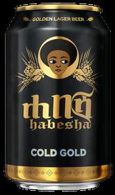 Habesha Bier ሀበሻ ቢራ Cold Dose 33cl - Lieferung nur nach Absprache möglich